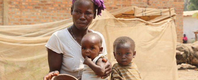 Un 70% de las personas que sufren hambre en el mundo son mujeres. Foto: PMA África Occidental