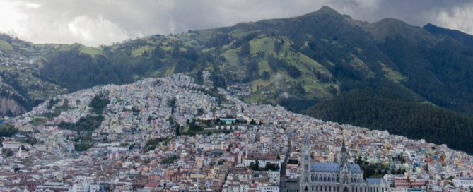 La ciudad de Quito en Ecuador. Foto: ONU-Rocio Franco