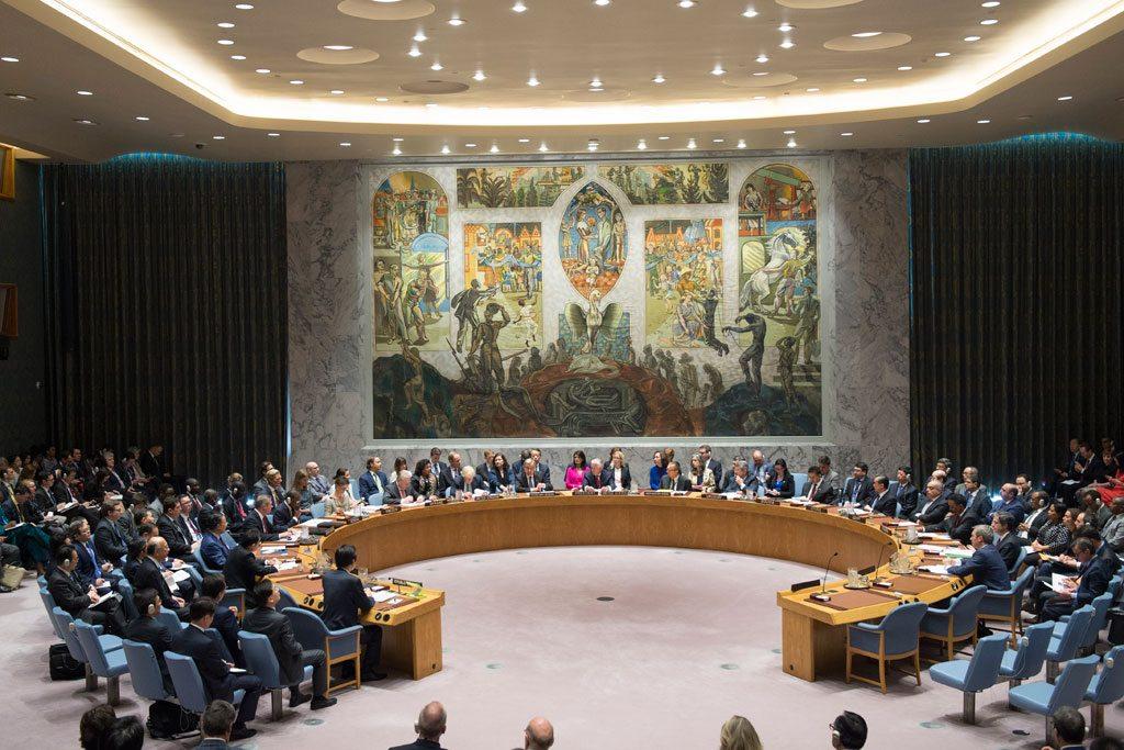 El Consejo de Seguridad de las Naciones Unidas. Foto: ONU/Eskinder Debebe
