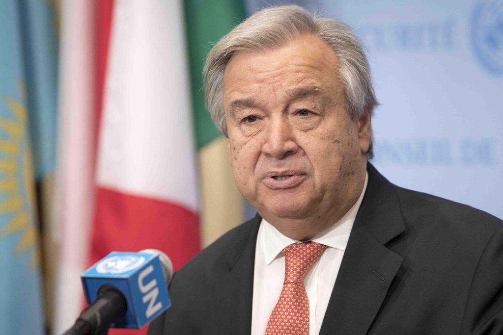 El Secretario General de la ONU, António Guterres. Foto: ONU/Mark Garten