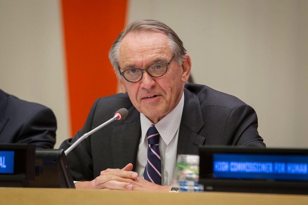 Le Vice-Secrétaire général Jan Eliasson.
