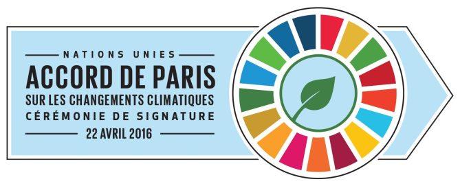 Nations Unies - Accord de Paris sur les changements climatiques - Cérémonie de signature, 22 avril 2016