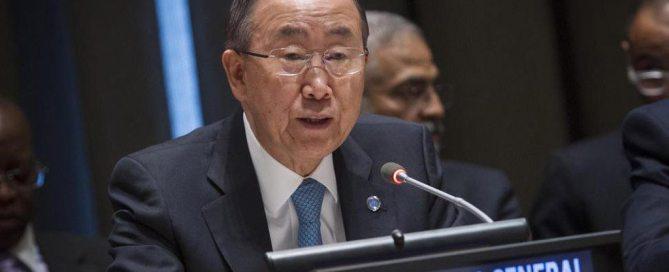 Пан Ги Мун: нам необходим эффективный механизм финансирования развития