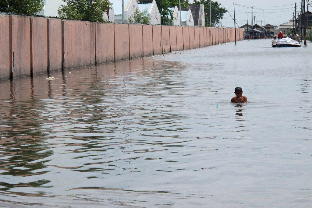 Наводнение в Индонезии Фото Всемирного банка/Фархана Аснап