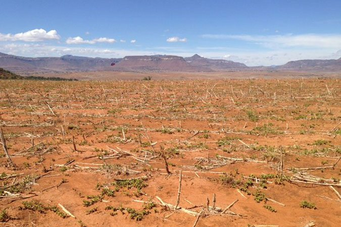 Засуха в Лесото - последствие Эль-Ниньо Фото ФАО