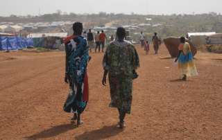 In Malakal, South Sudan, an HIV support network with around 150 members meet on a regular basis to talk about the challenges faced in accessing antiretroviral medicines. Photo: UNAIDS