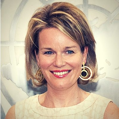 Her Majesty Queen Mathilde of the Belgians
