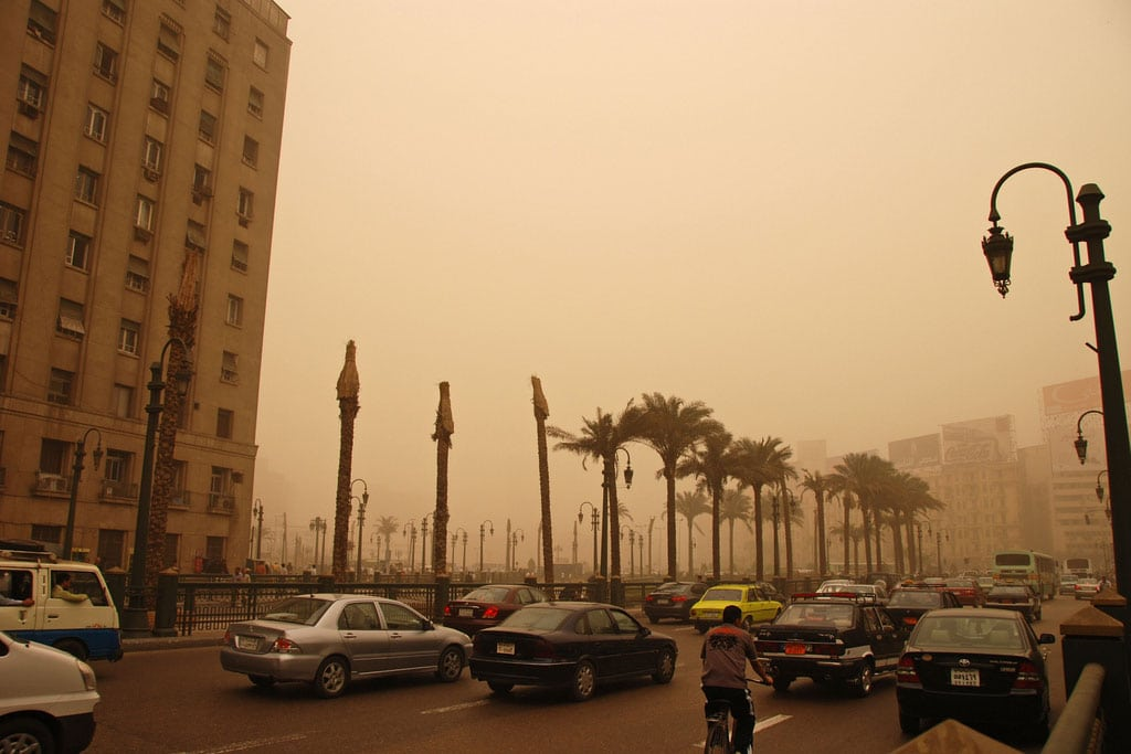 Photo: Air pollution in Cairo, Egypt. Photo: World Bank/Kim Eun Yeul. UN Photo