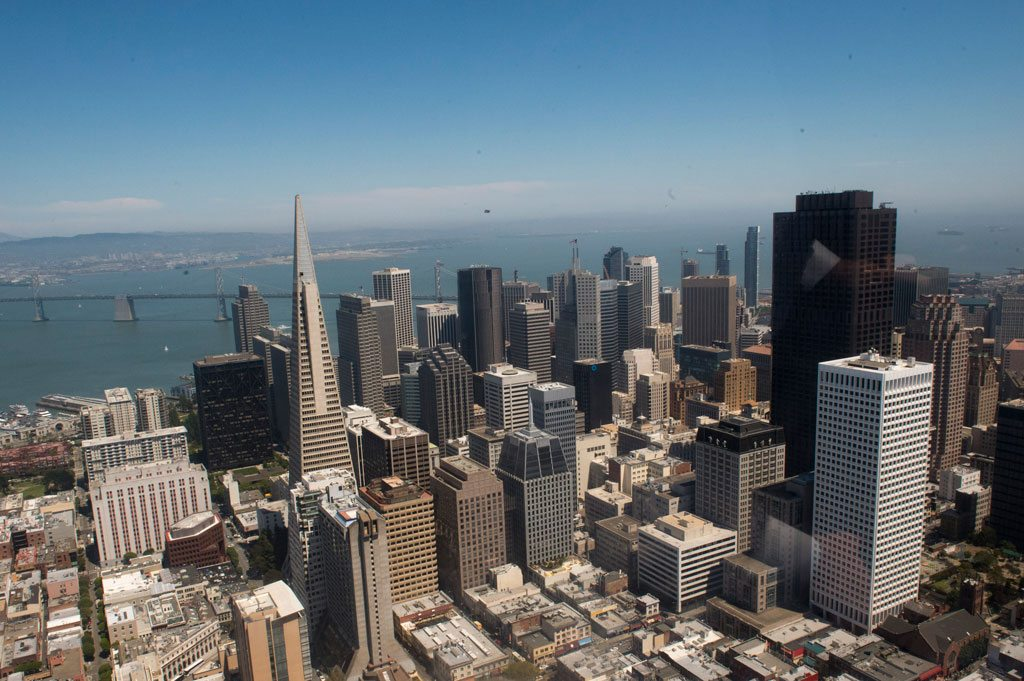 Photo: Aerial view of San Francisco, California. UN Photo/Mark Garten