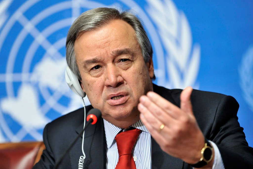 Photo: United Nations Secretary-General António Guterres