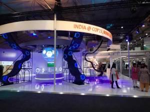 Photo: India exhibition in the Bonn Zone.