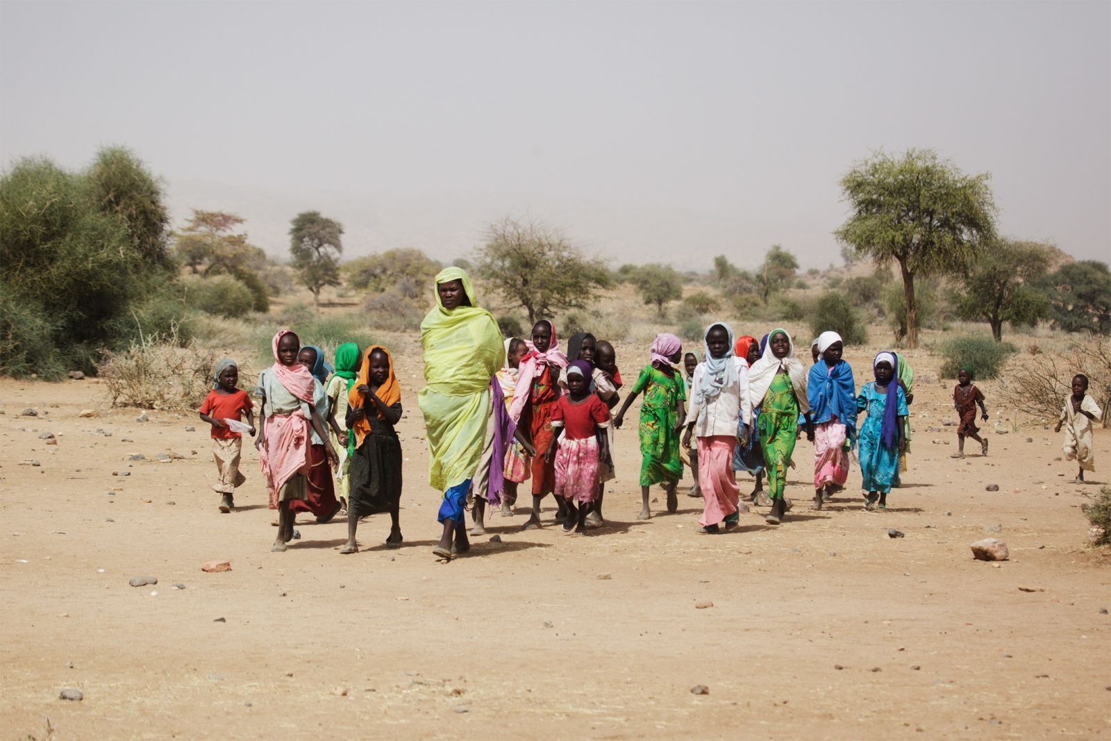 UNAMID and Agencies Deliver Aid to Darfur Area Isolated by Fighting