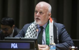 H.E. Mr. Peter Thomson, President of the 71st Session of the General Assembly, at the Special Meeting of the Committee on the Exercise of the Inalienable Rights of the Palestinian People