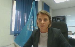 Ms. Gwyn Lewis, Director of UNRWA Operations in West Bank