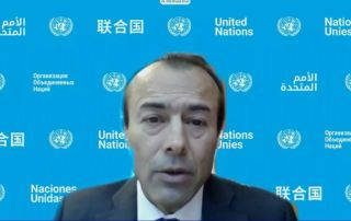 Mr. Mohamed Khaled Khiari, Assistant Secretary-General in the Departments of Political and Peacebuilding Affairs