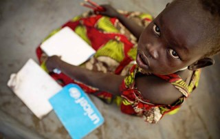 Thirty million children can't go back to school because of a record number of conflicts and crises. Photo: UNICEF