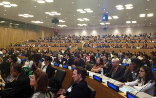 A side of the audience during the Second International Young Leaders Assembly