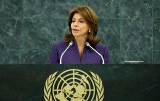 President Laura Chinchilla at the 68th Session of the General Assembly