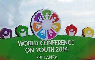 The World Conference on Youth, which was inaugurated earlier today.