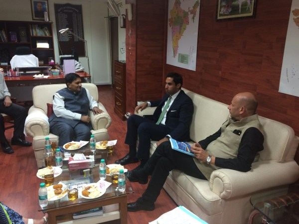 Meeting with Youth Secretary