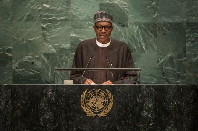 President of Nigeria, Muhammadu Buhari.