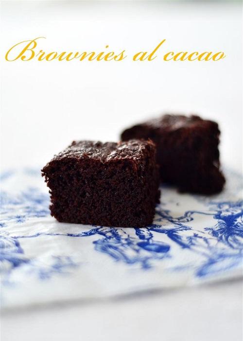 Brownies al cacao di Nigella