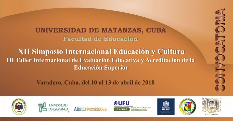 XII Simposio Internacional Educación y Cultura