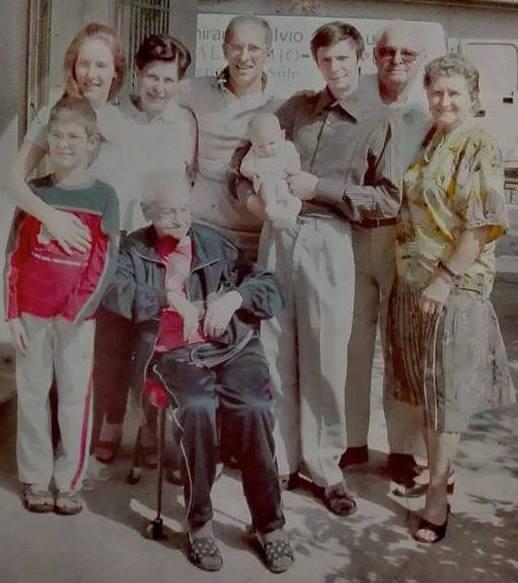 La famiglia di Lisa Bortolotti
