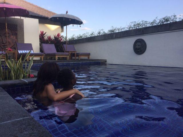 La piscina del Solo Villas