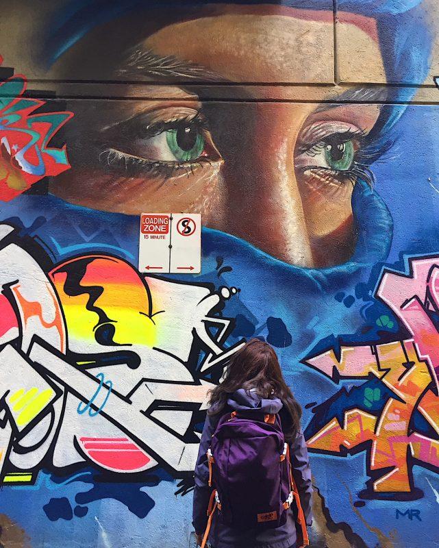 Street art a Melbourne Australia