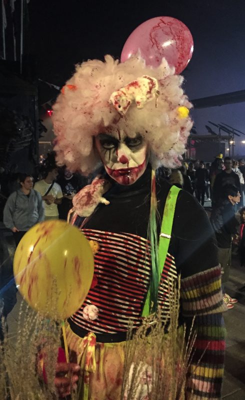 Pagliaccio Halloween Mirabilandia
