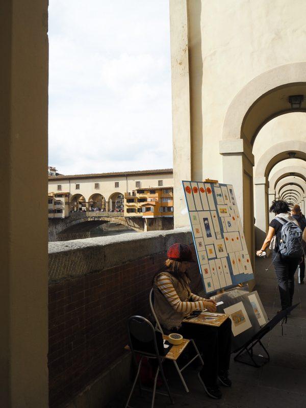 Un giorno a Firenze Lungarno