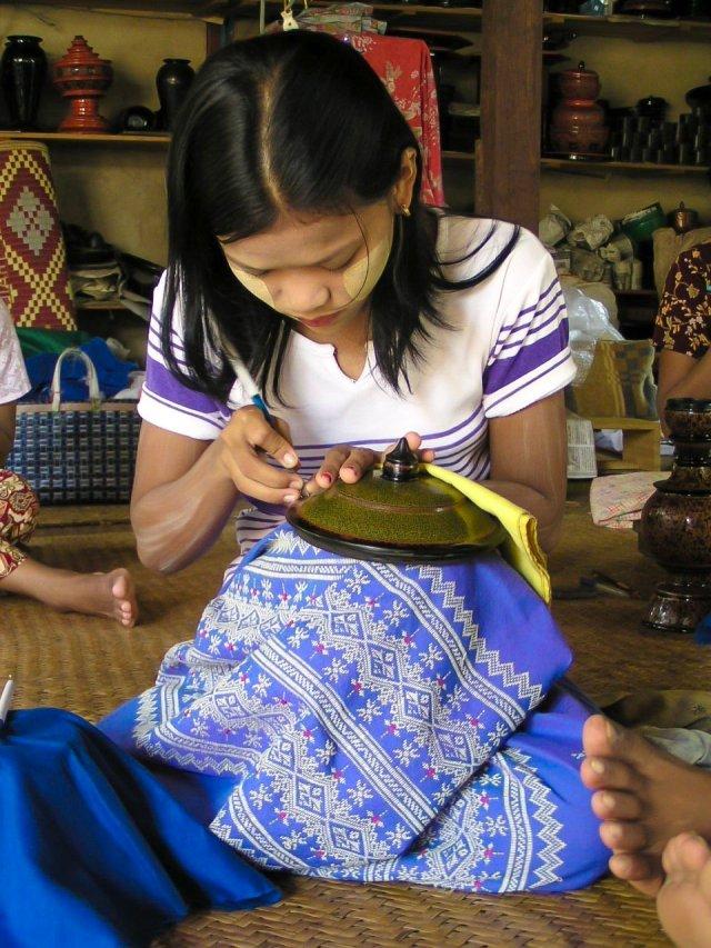 Artigianato Bagan Myanmar