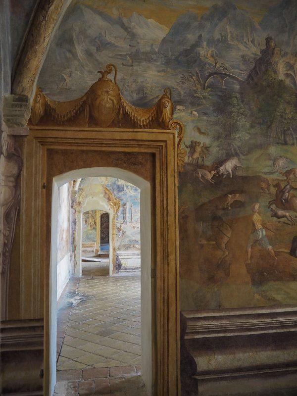 Affreschi del Castello di Torrechiara