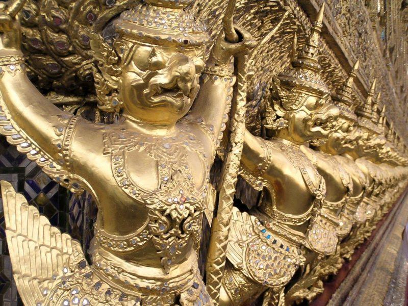 Dettaglio Grand Palace Bangkok