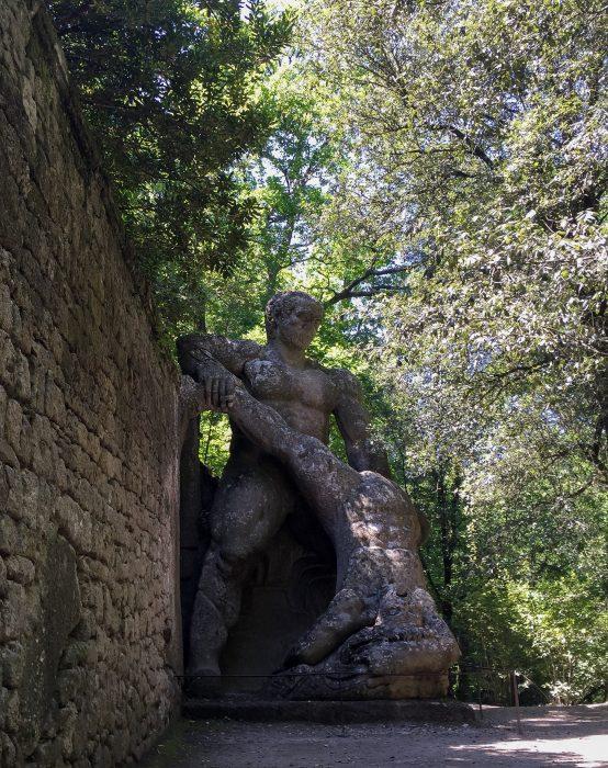 Ercole Caco Parco dei mostri di Bomarzo