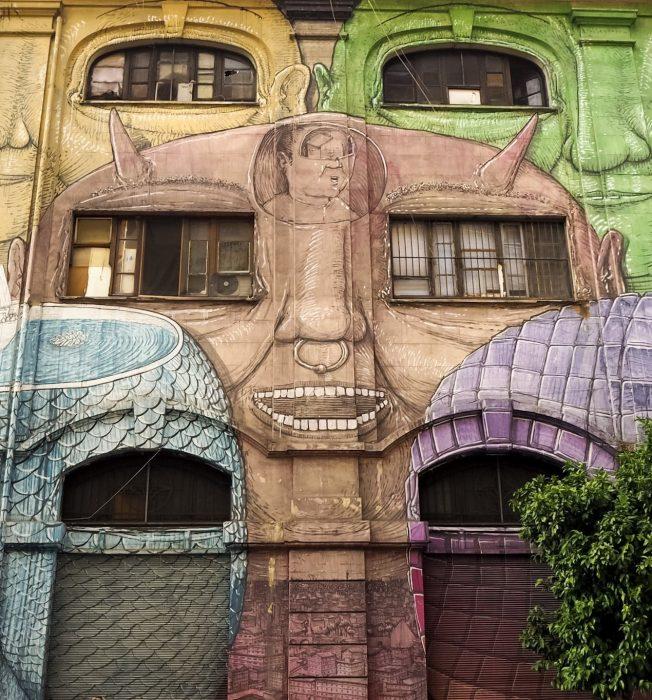 Street art a Roma Ostiense