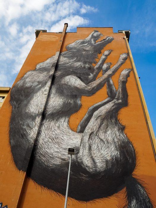 Street art a Roma Testaccio