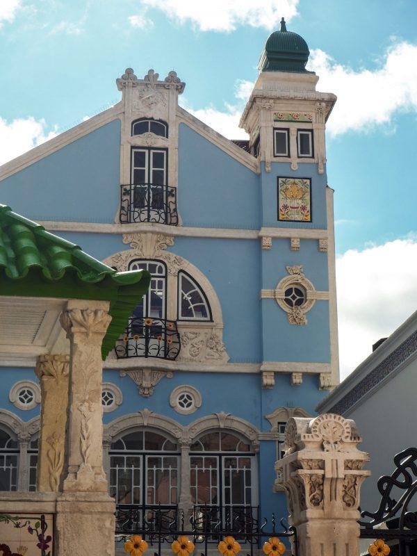 Casa liberty ad Aveiro Portogallo