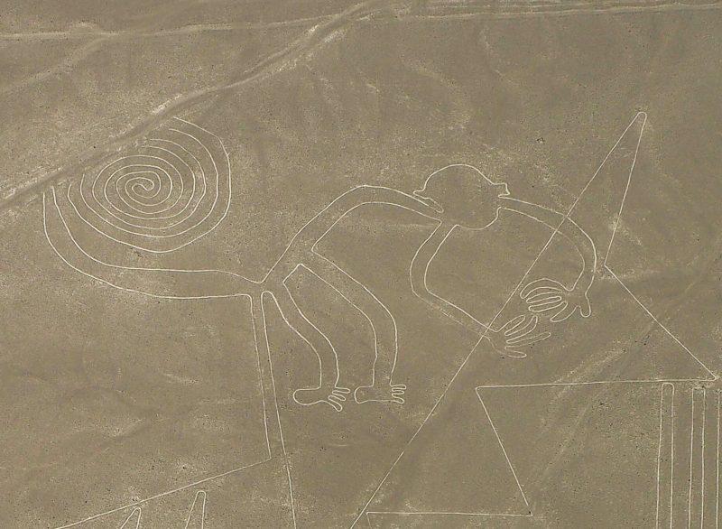 Scimmia geoglifi Nasca