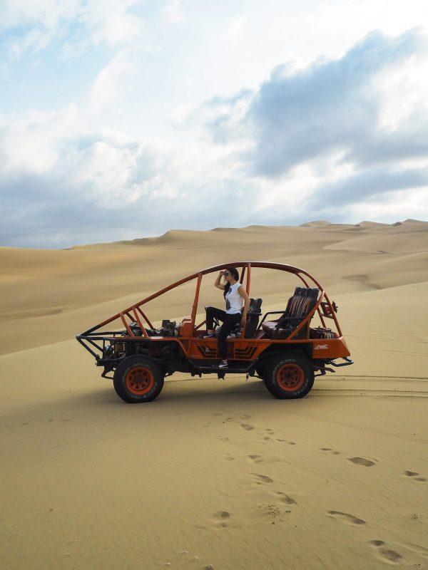 Tubular deserto Huacachina