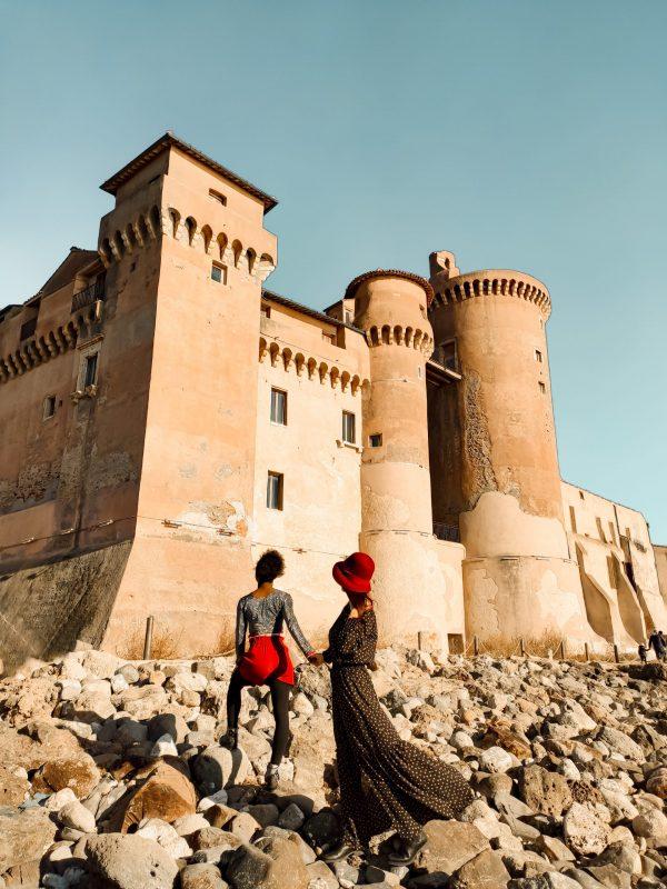Castello di Santa Severa Unadonnaalcontrario IG