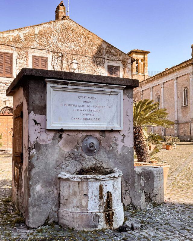 Fontana Borgo di Ostia Antica