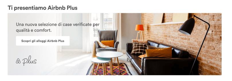 airbnb Plus la novità