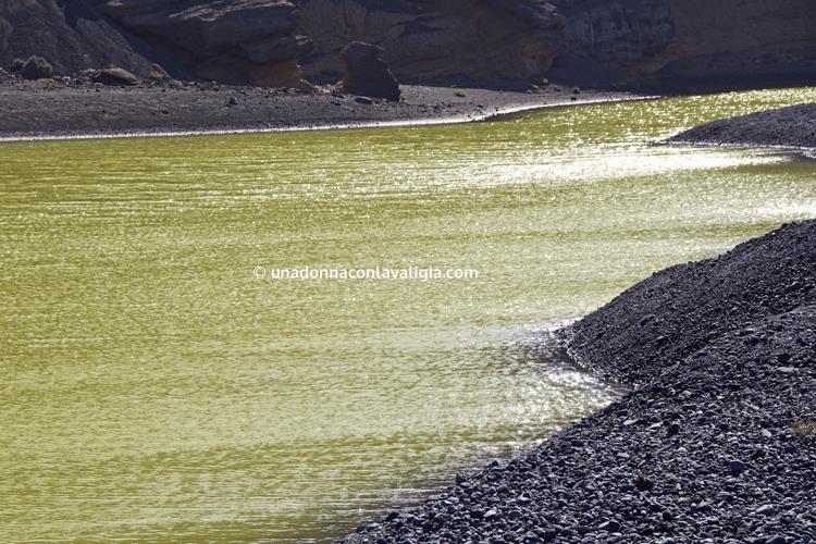 Il lago verde di El Golfo, Lanzarote