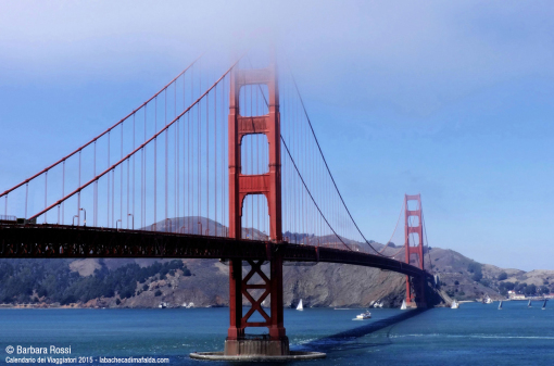 San Francisco: the Golden Gate Bridge