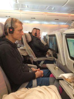volare con emirates a380