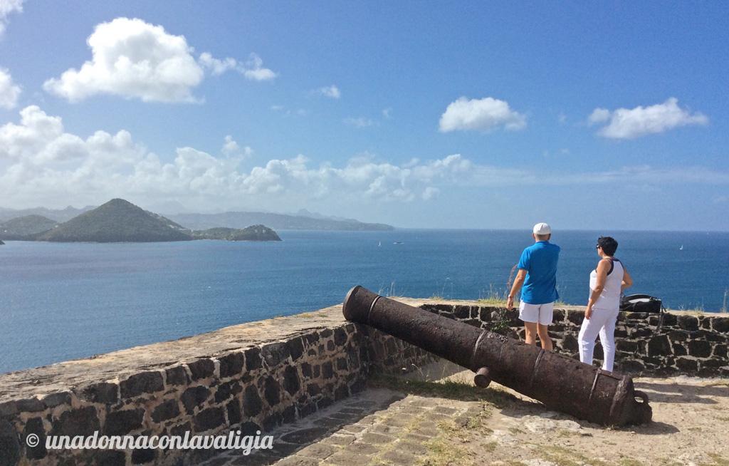 fort rodney saint lucia pigeon island