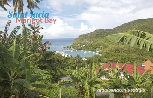 marigot bay santa lucia caraibi