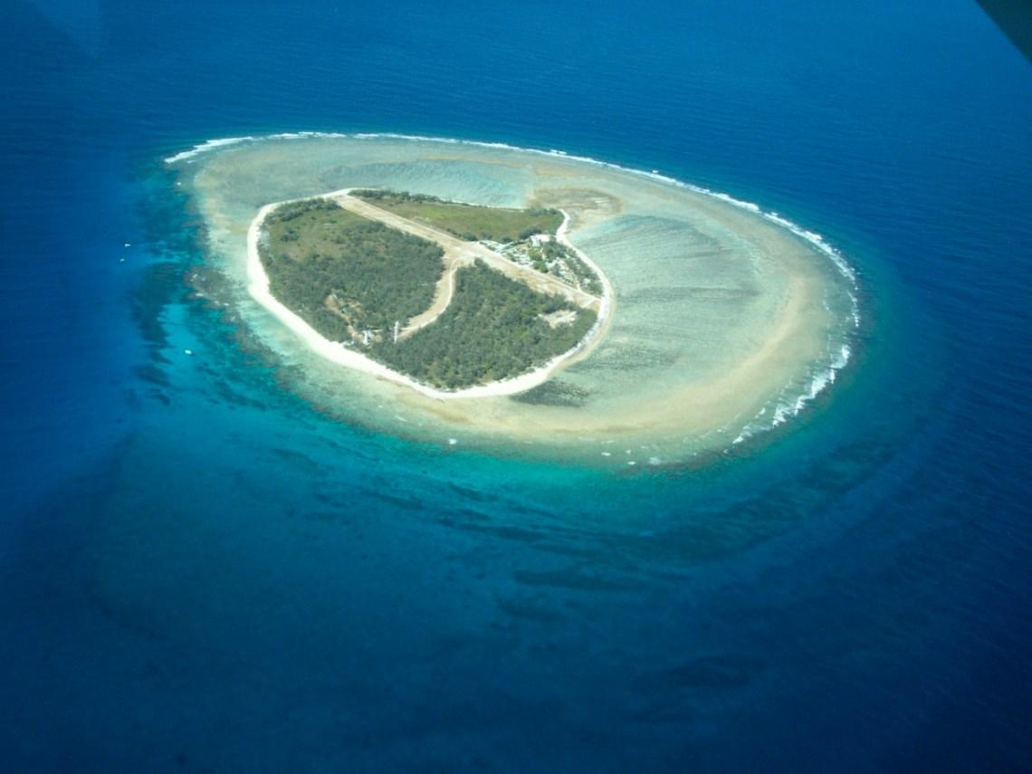 Lady elliott Island ed il suo reef